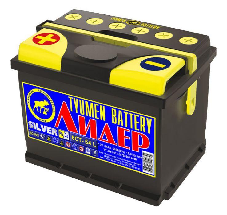 Аккумулятор для легкового автомобиля Tyumen Battery Premium 6СТ-64L 64 Ач Об - фото 9