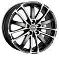 ATS X-Treme 7,5x16 5x108 ET45 70,1 Racing Black Front Polished