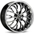 Lorenzo WL27 10x22 5x120 ET40 74 Black/Machined