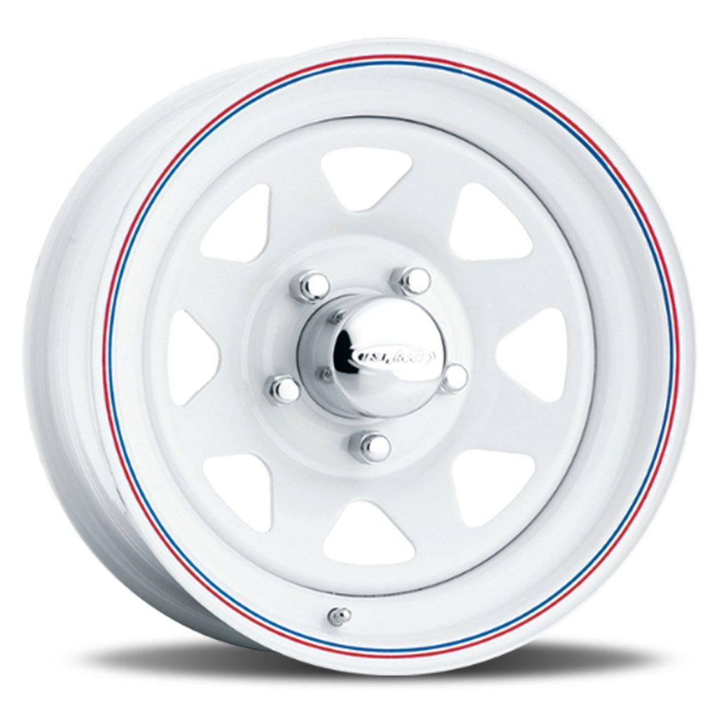 Легковой диск U.S. Wheel 8-Spoke - White (Series 70) 8x16 5x139 ET 108,6 W